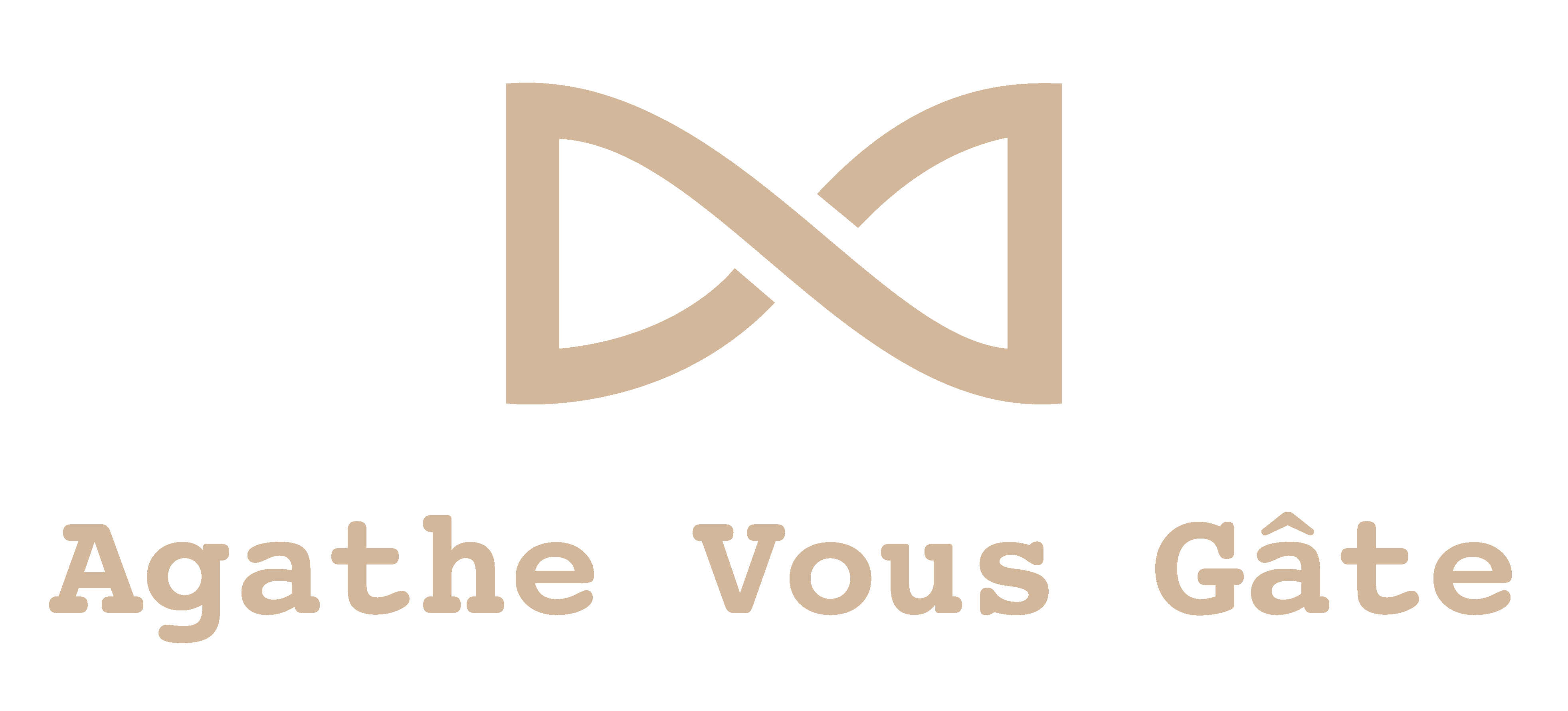 Logoagathe v beige