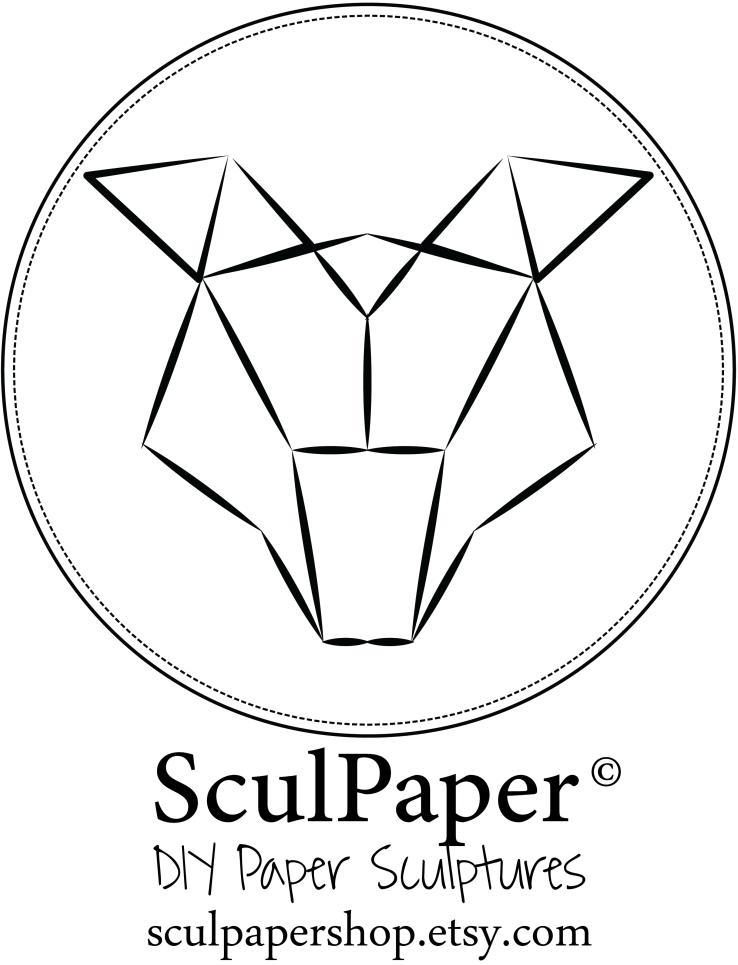 Blanc logo sculpaper1000