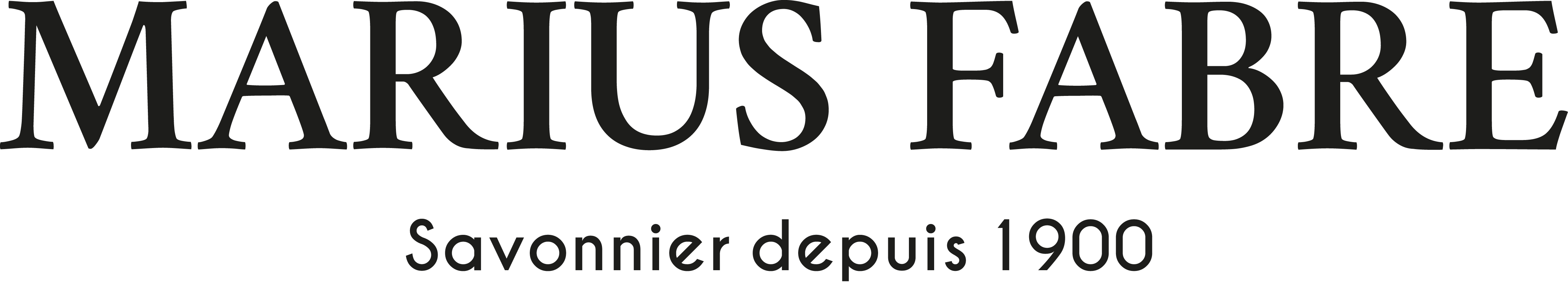 Logo mariusfabre horizontal