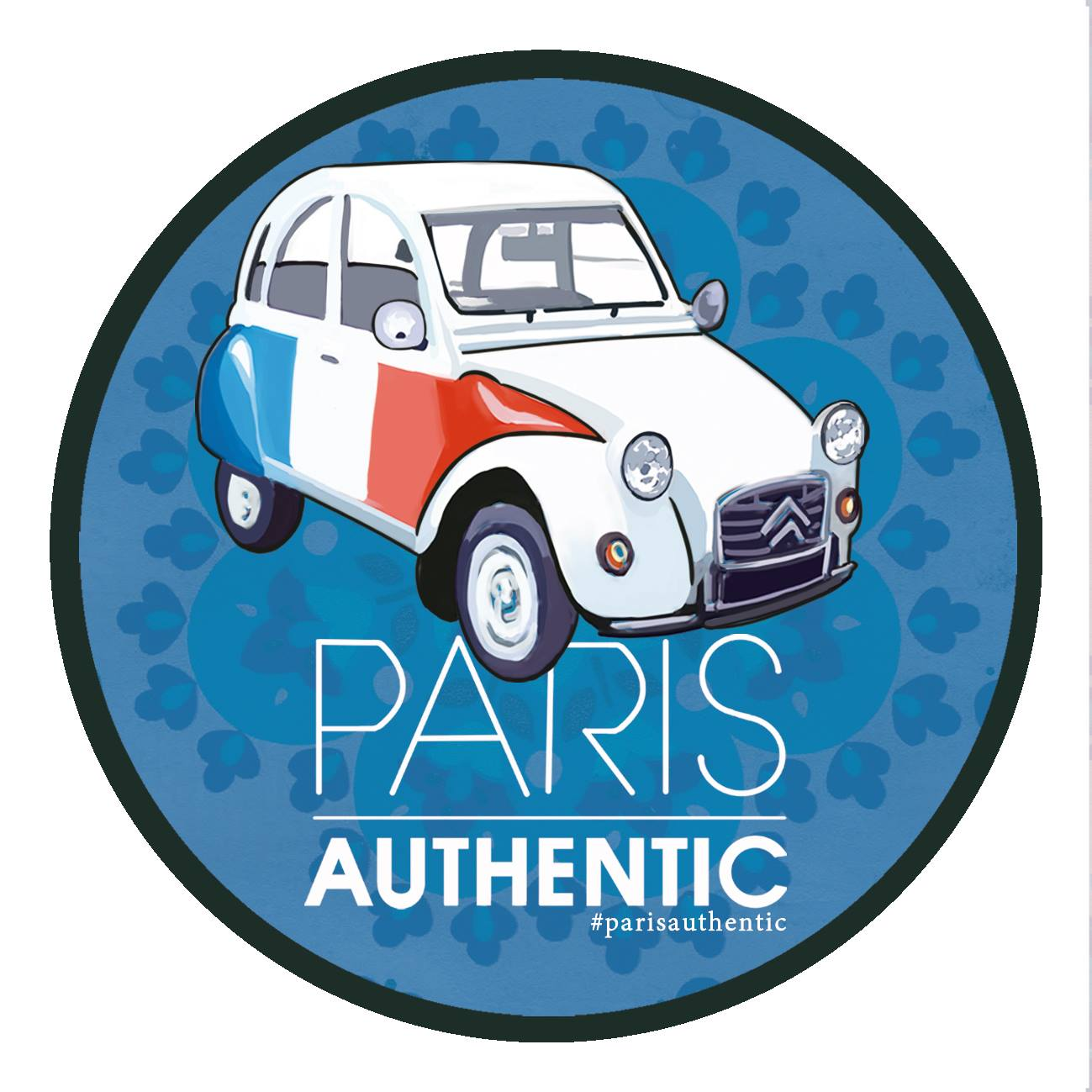 Logo paris authentic