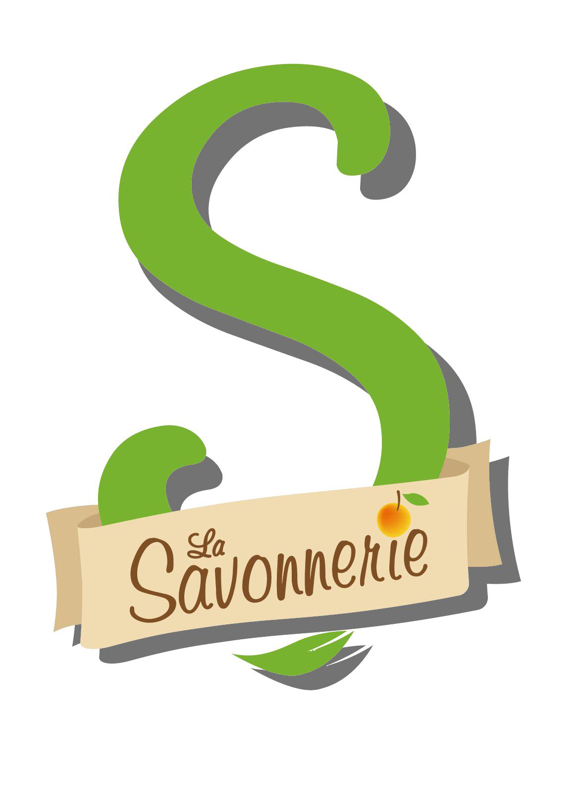 Logo la savonnerie avec ombrage