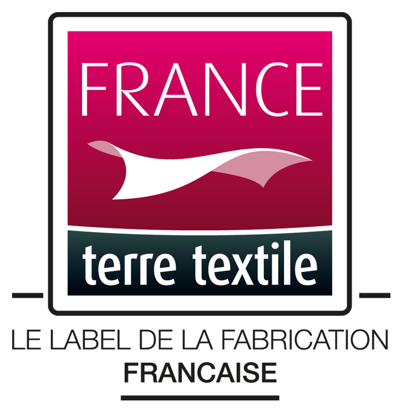 Logo france terre textile label fabrication francaise