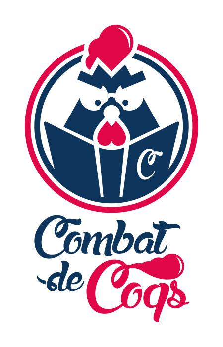 Logo combat de coqs