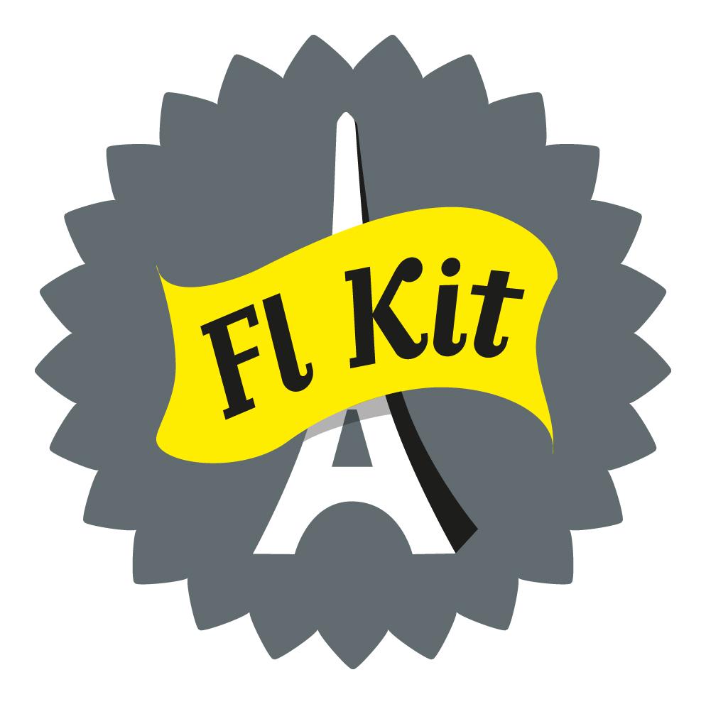 Flkit logo jaune