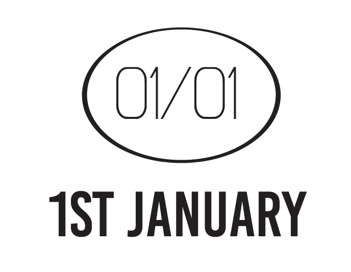 Logo 1st january inverse
