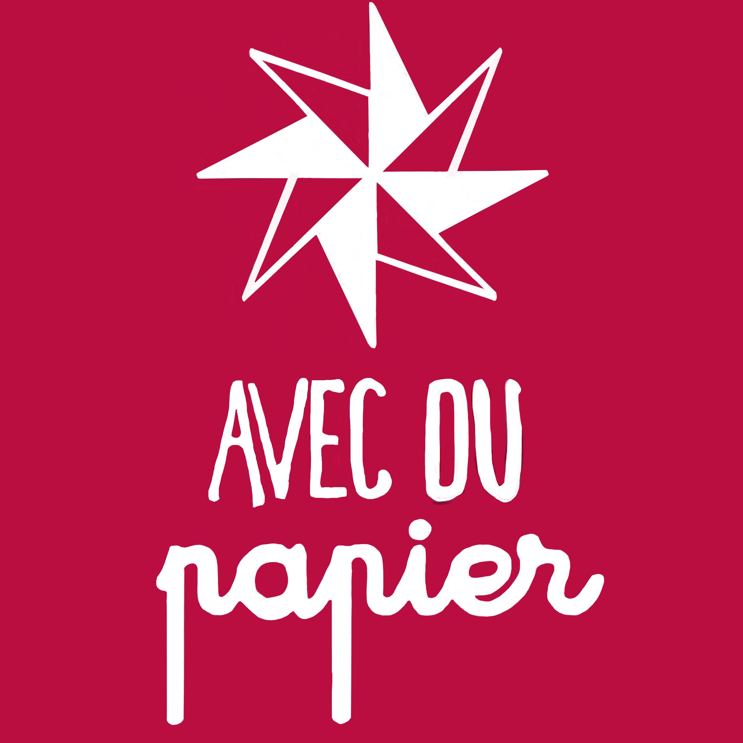 Logo avec du papier