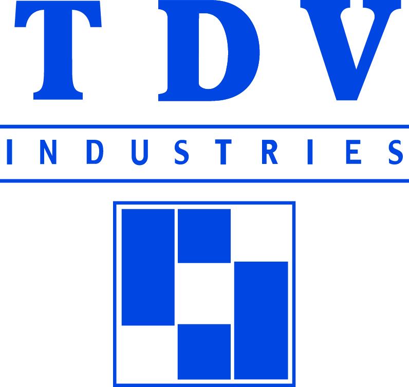 Tdv logo bleu
