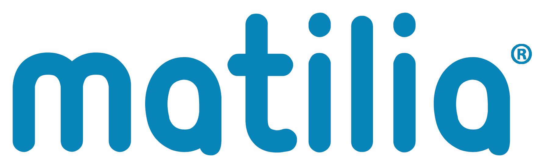 Logo matilia bleu