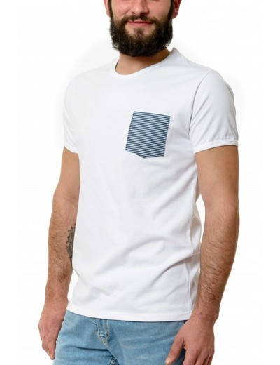 Small mariniere blanc homme
