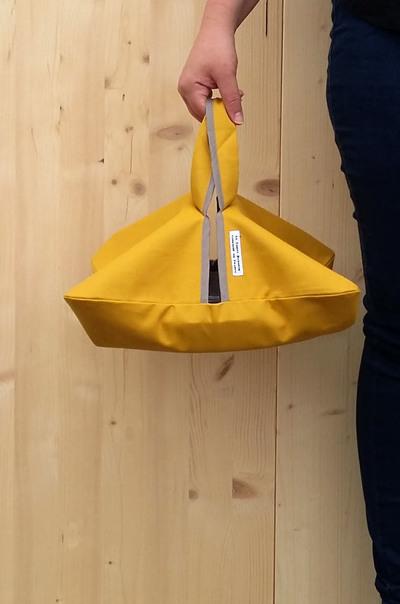 Small la carpe bavarde sac a tarte moutarde porte