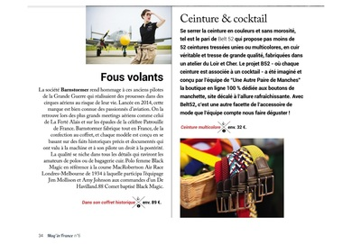 Small mag in france 22