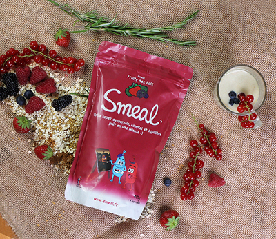 Small smeal fruits des bois