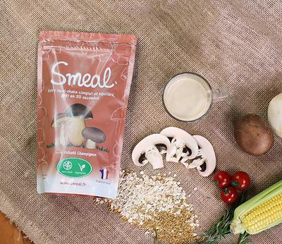 Small smeal veloute champignon
