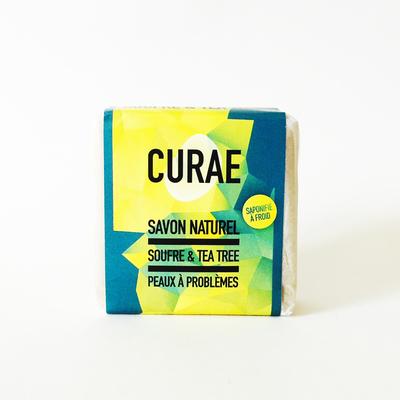 Small savon soufre carre  sans logo