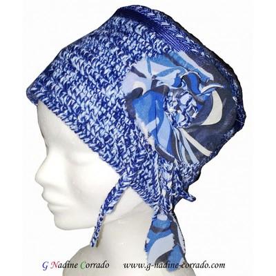 Small chapeau bleu crochet main g nadine corrado  1
