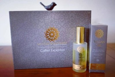 Small coffret   flacon argan
