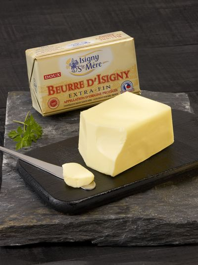 Small beurre d isigny aop doux plaquette 250g isignystemere