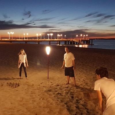 Small lampadaire sans fil paranocta eclairage sans fil plage