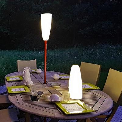 Small lampadaire sans fil paranocta eclairage sans fil terrasse