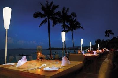 Small lampadaire sans fil rechargeable paranocta terrasse restaurant