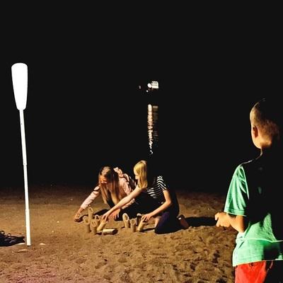 Small lampadaire sans fil paranocta molkky de nuit