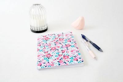 Small les jolis cahiers cahier liberty bleu et rose copie