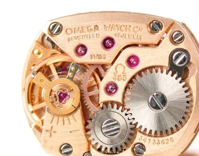 Small boutons de manchette montres omega