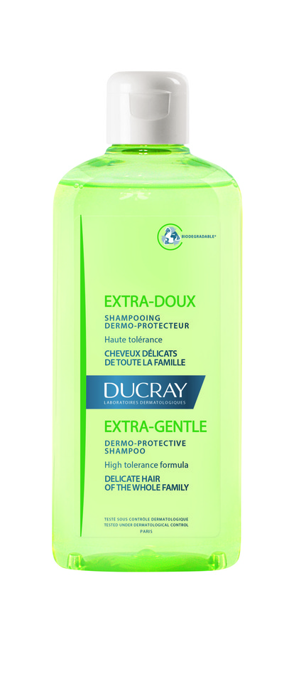 Small flacon shampooing extra doux 400ml