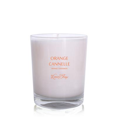 Small bougie180gr orangecannelle