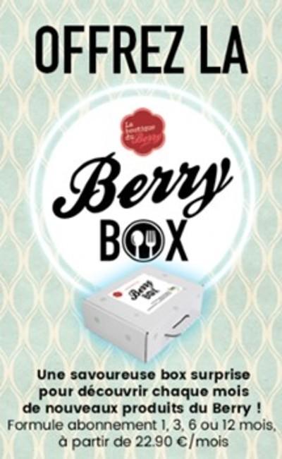 Small encart berry box