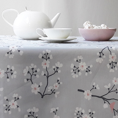 Small nappe enduite cerisier rose fleur de soleil