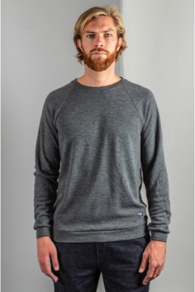 Small sweat homme gris