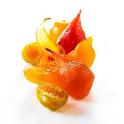 Small le roy rene fruits confits